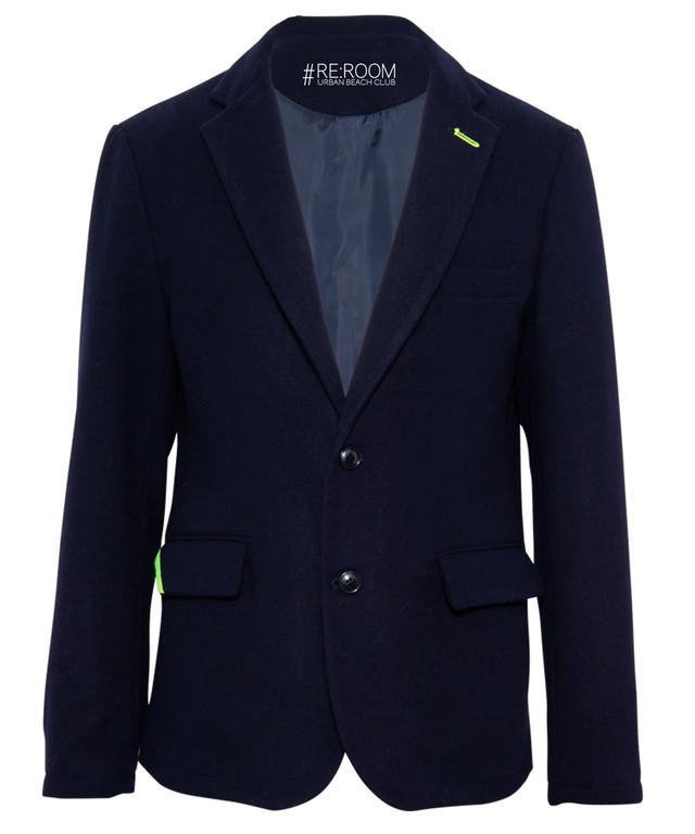 WOOL SLIM TAILORED JACKET[RUJ008]