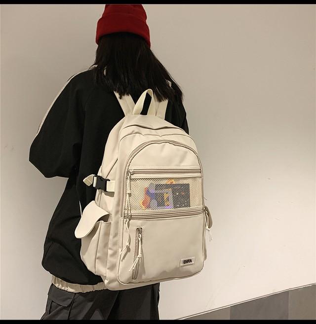 【送料無料】リュック女子へ♡4color♪リュック♡通学 学生 大容量 双子コーデ おそろい 通勤 ユニセックス