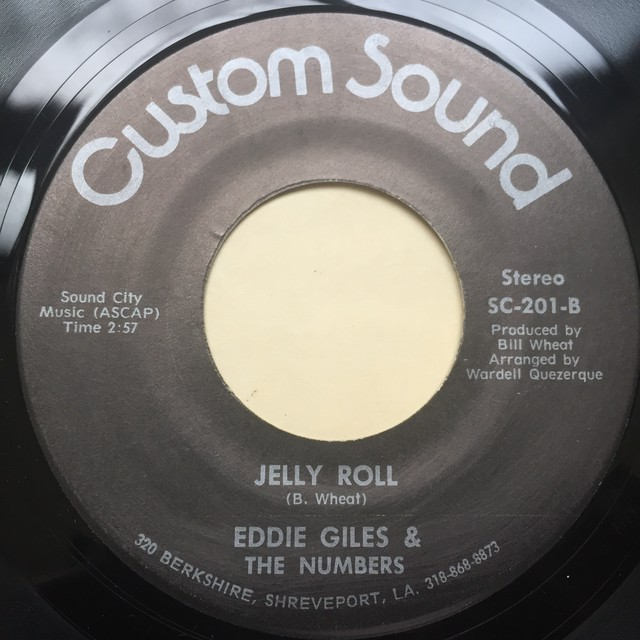 Eddie Giles & The Numbers ‎– Sexy Lady