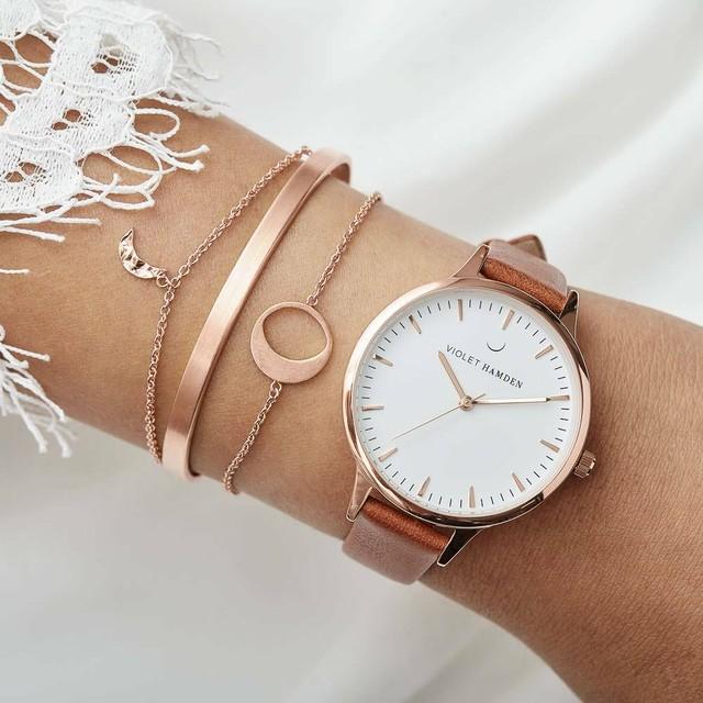 ■バイオレットハムデン 腕時計 Day & Night 38㎜ VH00123