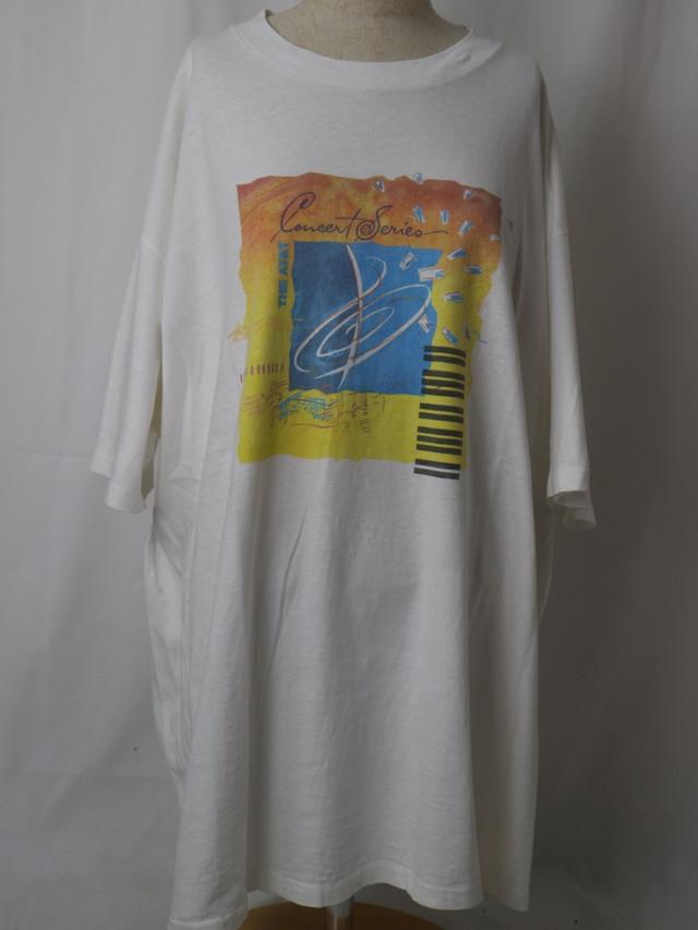 90s AT&T print tee【5673】