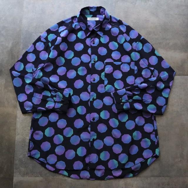 pattern all over dot design shirt