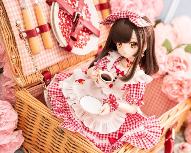 MDD / DDP / SDM対応OF【ツインシスターズ☆苺ちゃんバスケット】 MDD / DDP / SDM Outfit Set【Twin Sisters☆Ichigo-chan】