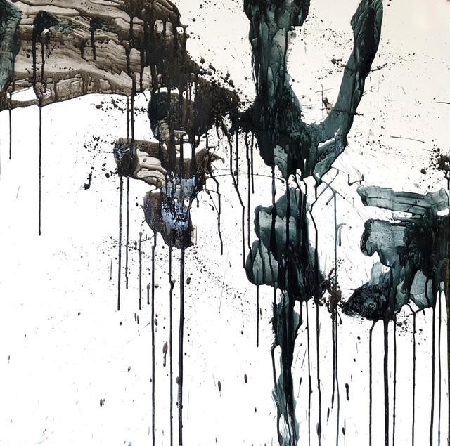 絵画 絵 ピクチャー 縁起画 モダン シェアハウス アートパネル アート art 14cm×14cm 一人暮らし 送料無料 インテリア 雑貨 壁掛け 置物 おしゃれ ロココロ 現代アート 抽象画 画家 : tamajapan 作品 : t-09