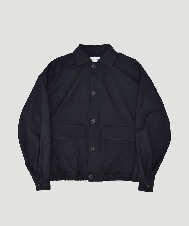 LEMAIRE Over Sized Blouson Black M-193-OW143