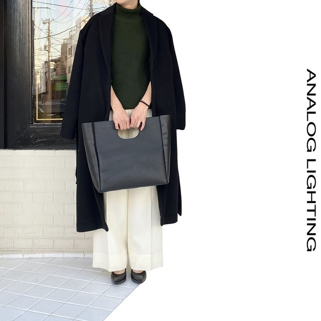 STAND NECK KNIT/GREEN