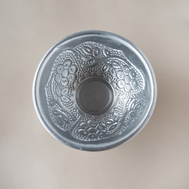 Silver Aluminum Small Bowl