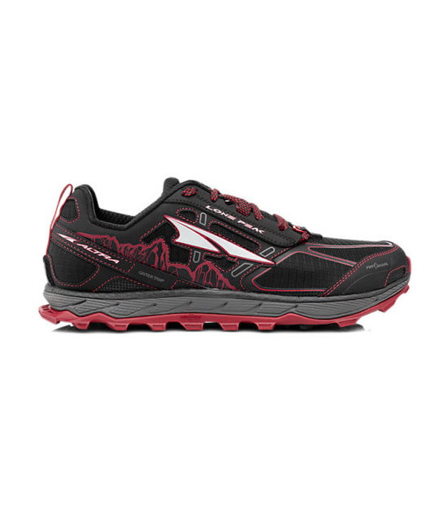 【ALTRA】 LONEPEAK4.0 M (Black x Red) (ブラック/レッド)