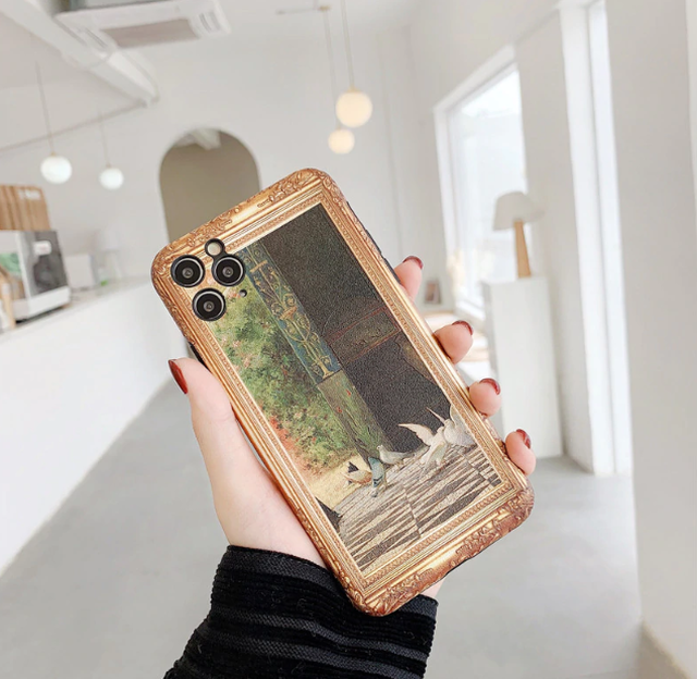 【オーダー商品】Retro birdie art iphone case