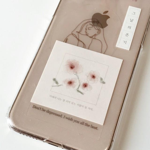 flower sticker set