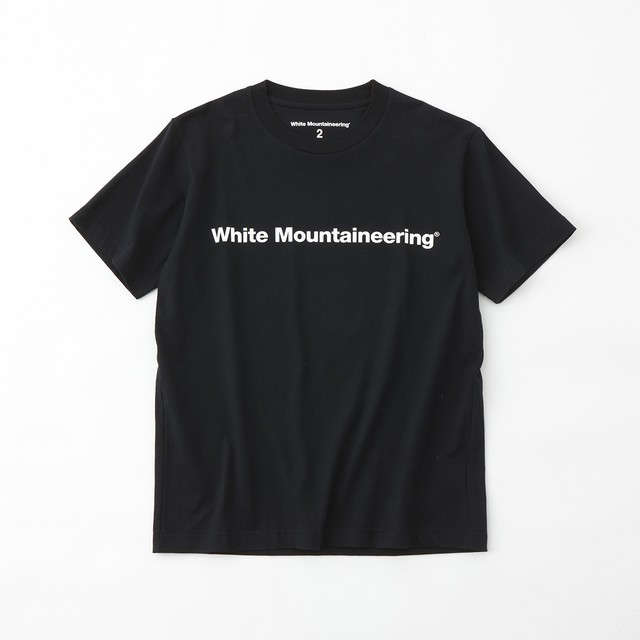 SIDE WM LOGO PRINTED T-SHIRT- BLACK