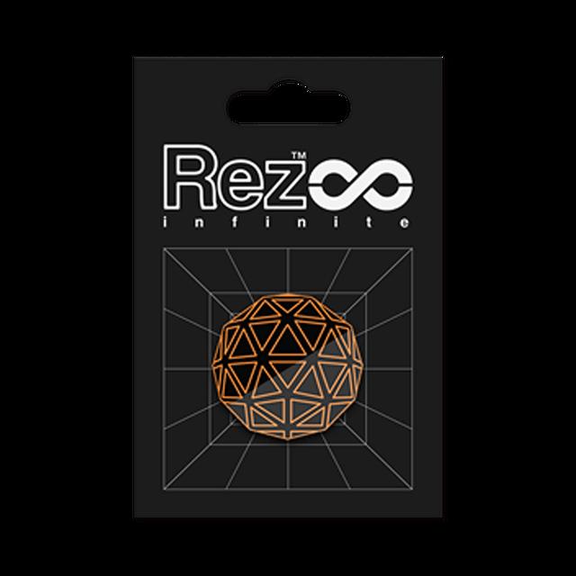 【Rez Infinite】ピンバッジ(Player Form 00) - メイン画像