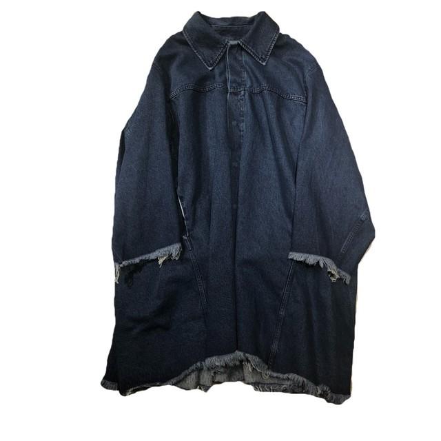 MARQUES ALMEIDA Oversize Denim Coat Size XS