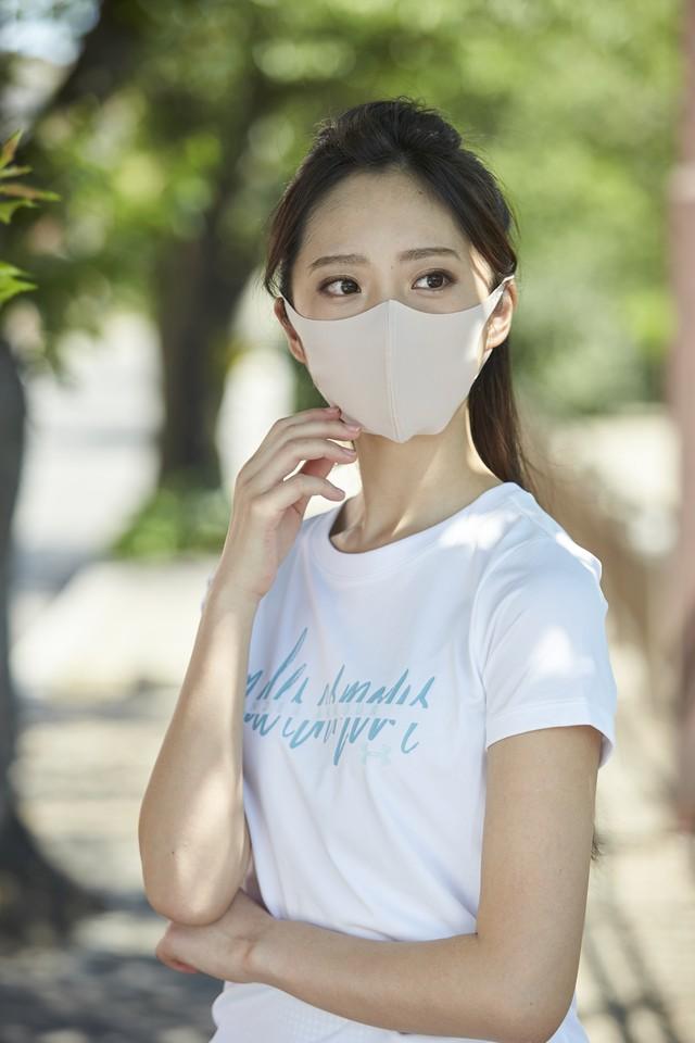 「さら♥」 Sサイズマスク  無地2枚セット 接触冷感・UVカット・吸汗速乾 #106