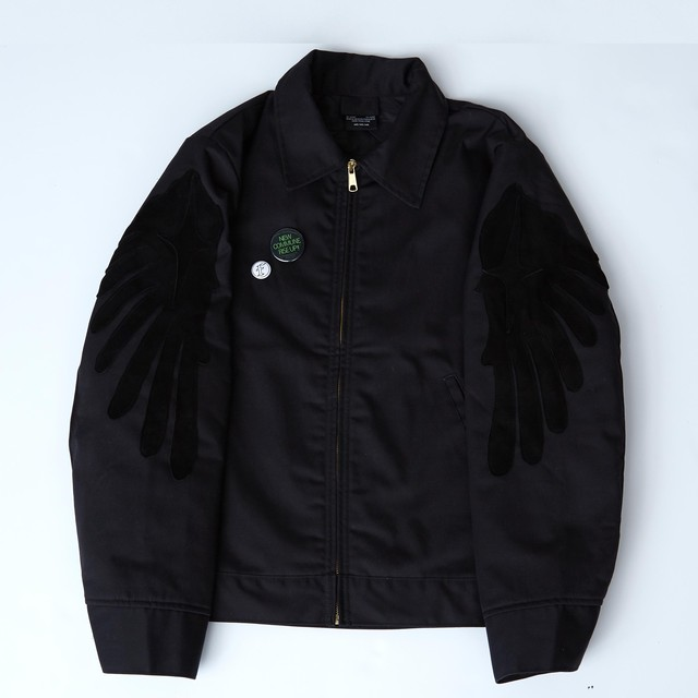 WINGS WORK JACKET / BLACK - メイン画像