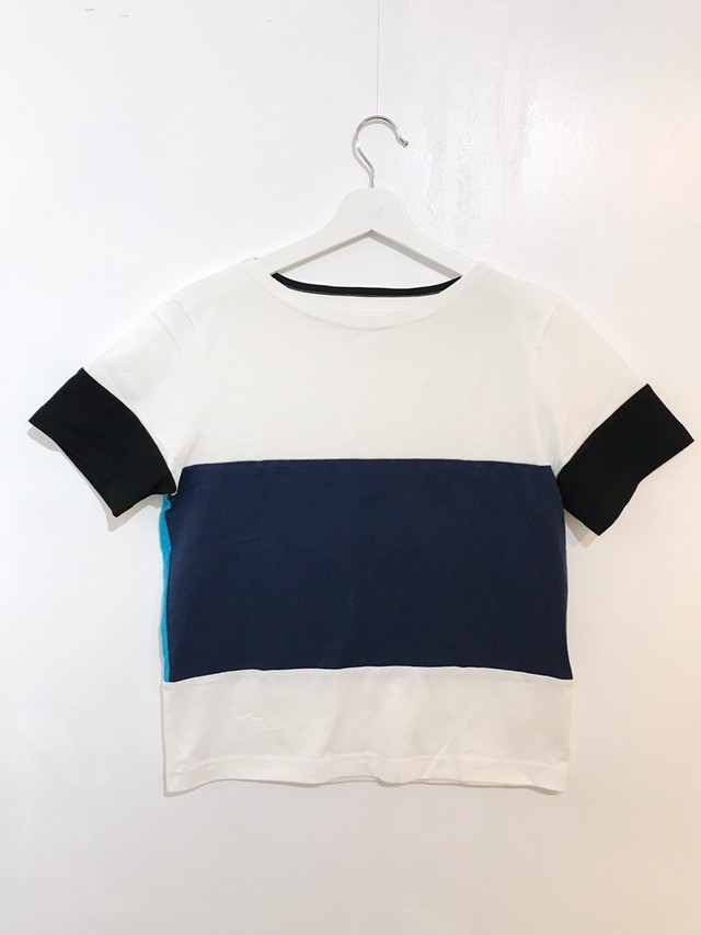 Colorful Tee【カラフル2WAY Tシャツ】01