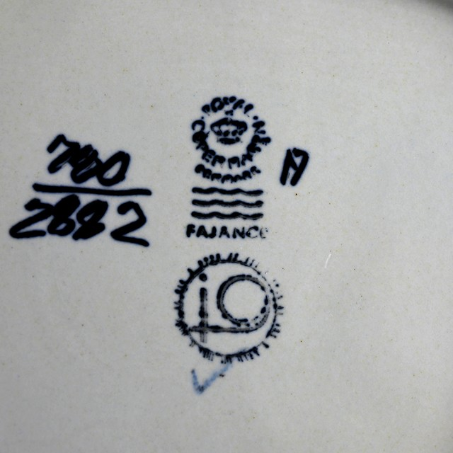 Royal Copenhagen ロイヤルコペンハーゲン BACA バッカ 角皿 北欧ヴィンテージ