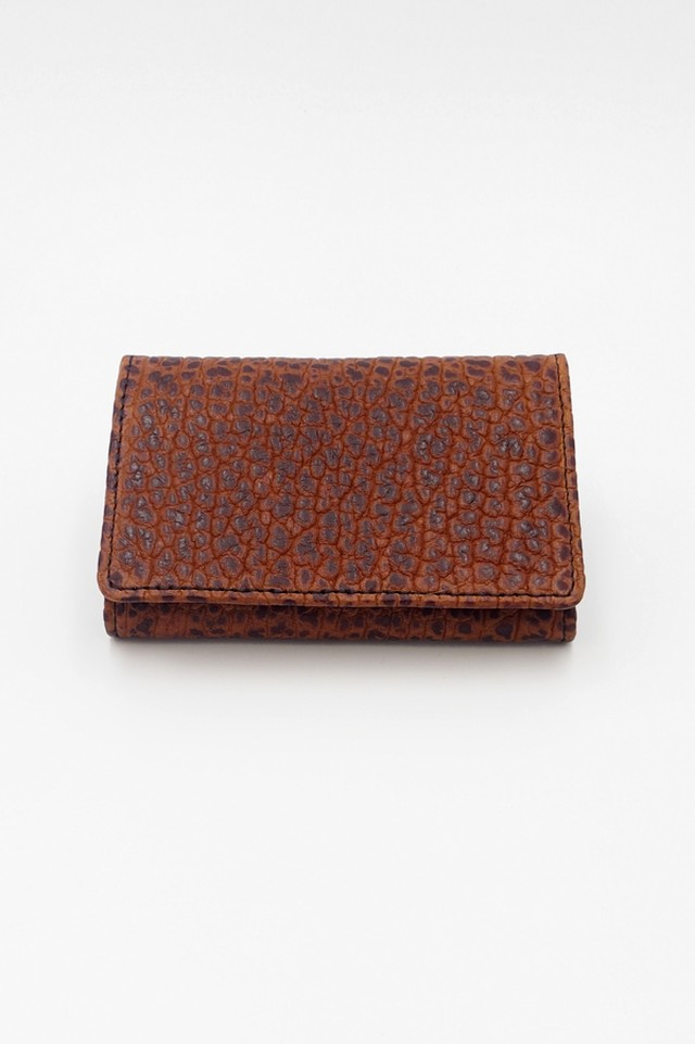 Item No.0306: Card Case / American Bison《Black》