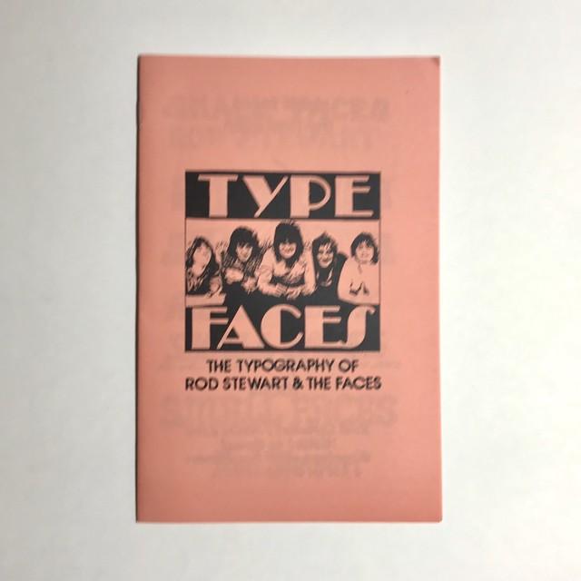 TYPEFACES ZINE by Allister Lee