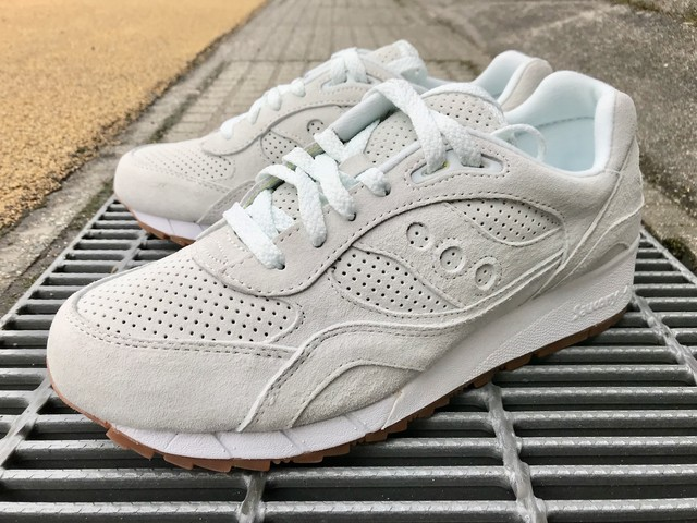 SAUCONY SHADOW 6000 SUEDE (IRISH COFFEE CRM)