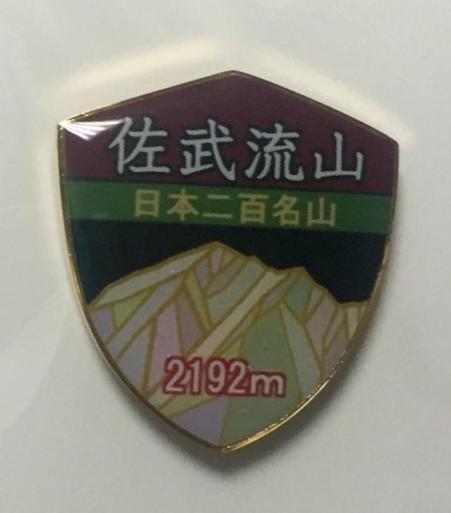 茅ケ岳 バッジ