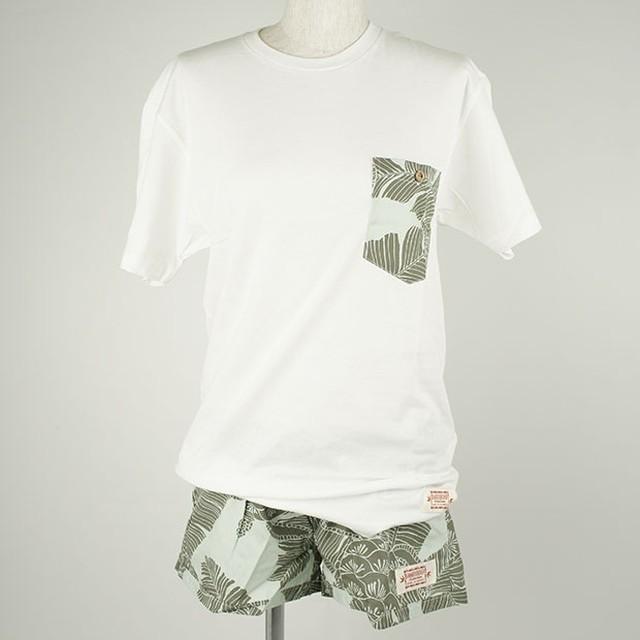 レディース Tシャツ&パンツセット サージ(サイズS)/Wahine-KAIMANA-W1104-2SET SA S