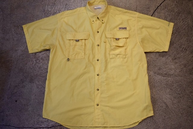 USED Columbia PFG fishing shirt M S0225