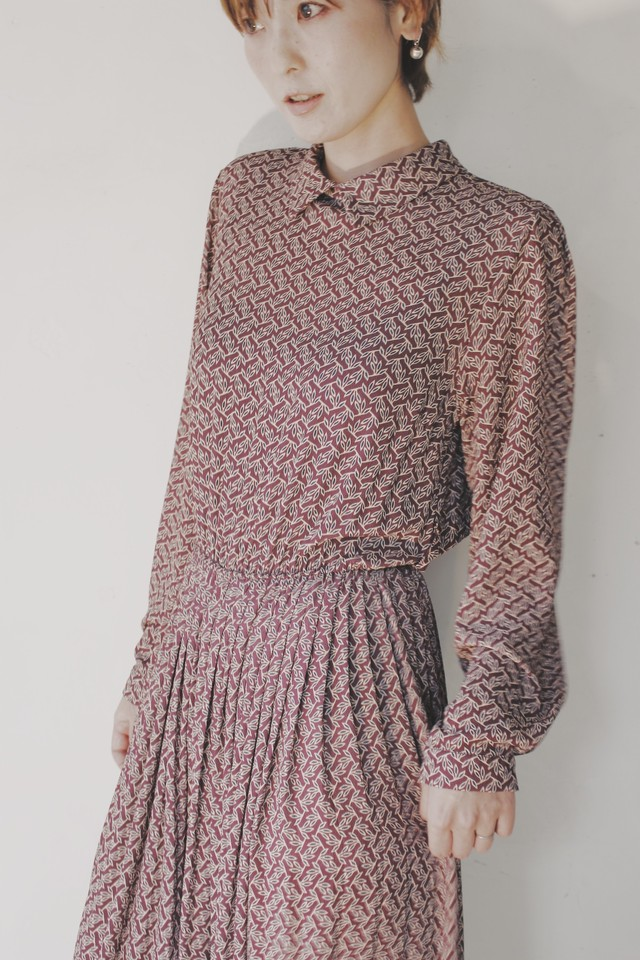 From Italy 1970s Vintage Dress