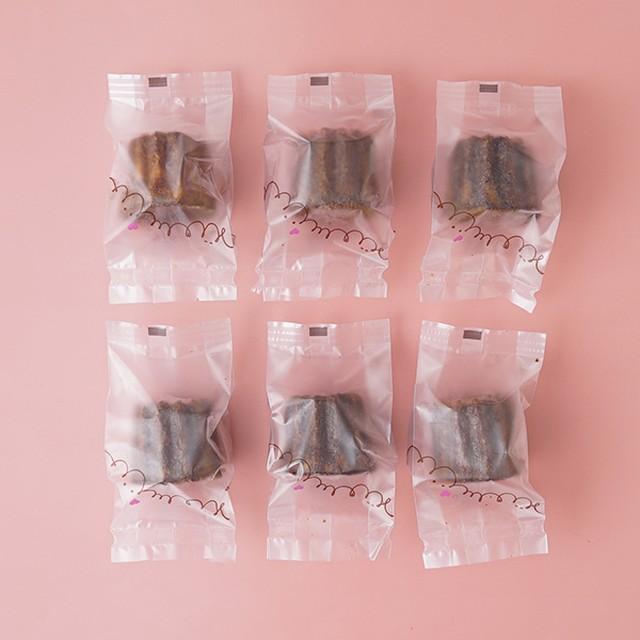 個包装はコチラ(個包装のみ、ギフト包装とカヌレは含まれません)