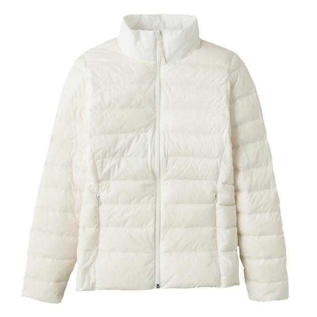 軽量ダウンジャケット (ホワイト) 3026019