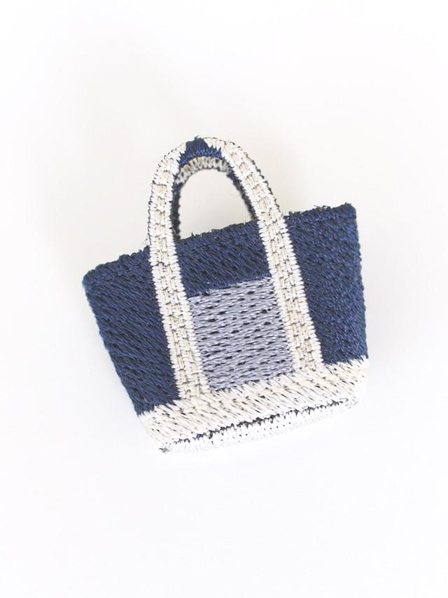 Special Price!!!! Polyvalent LM(ポリバレント  エルム)  刺繍ブローチ/トートバッグ No.98920051