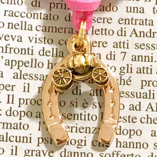 ◆幸運の馬蹄アクセサリー◆ シンデレラの馬車(しんでれらのばしゃ) 「玉の輿運・幸せが訪れる・恋愛・結婚運のパワーアップ」