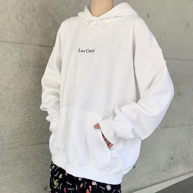 "CaNARi original hoodie ""Last Order """