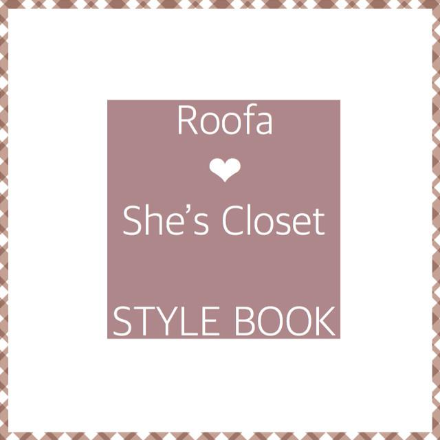 Roofa❤︎She's Closet STYLE BOOK