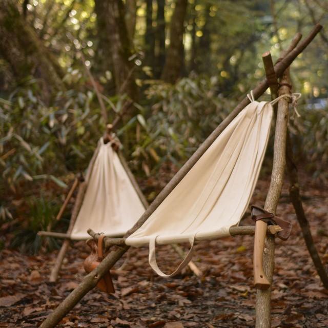 Bush Craft Inc ブッシュクラフト カーリーバーチ無垢 自然派 キャンプ アウトドア 10-03-pahk-0002