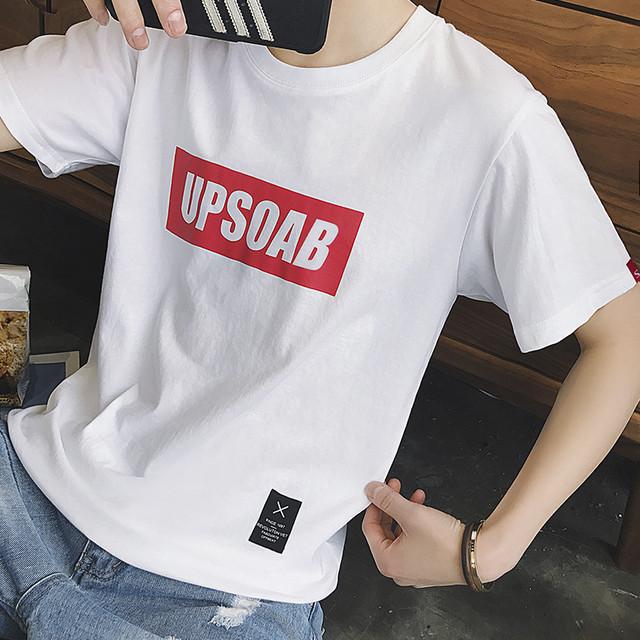 フロントロゴ・スポーティー半袖Tシャツ