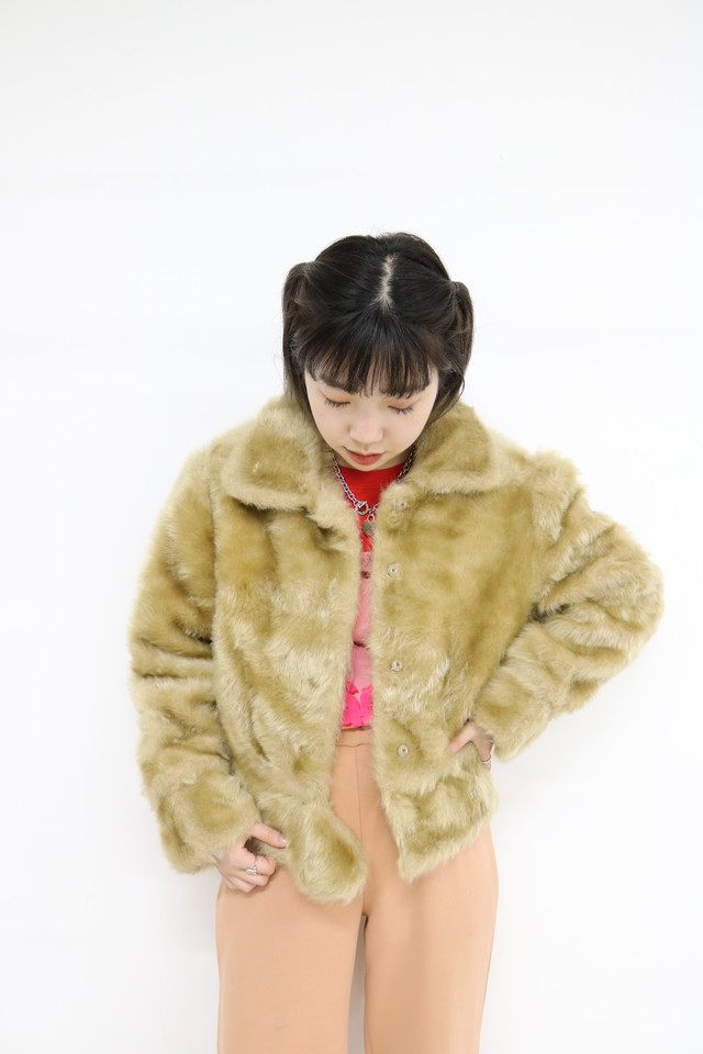 short fur jacket / OU11290104