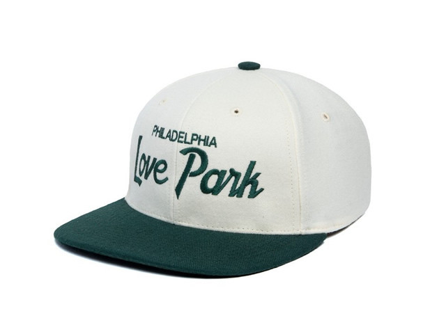 HOOD HAT|Love Park Two Tone