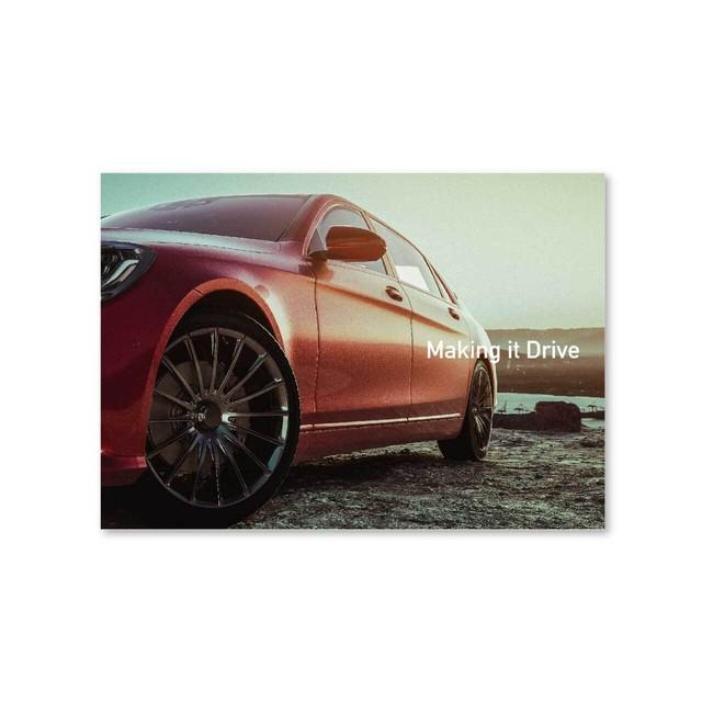 好きな写真でつくるフォトポスター「1shot Making it Drive」