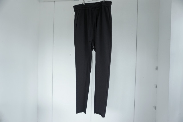 thom krom / Switching jersey sarouel pants / BLK