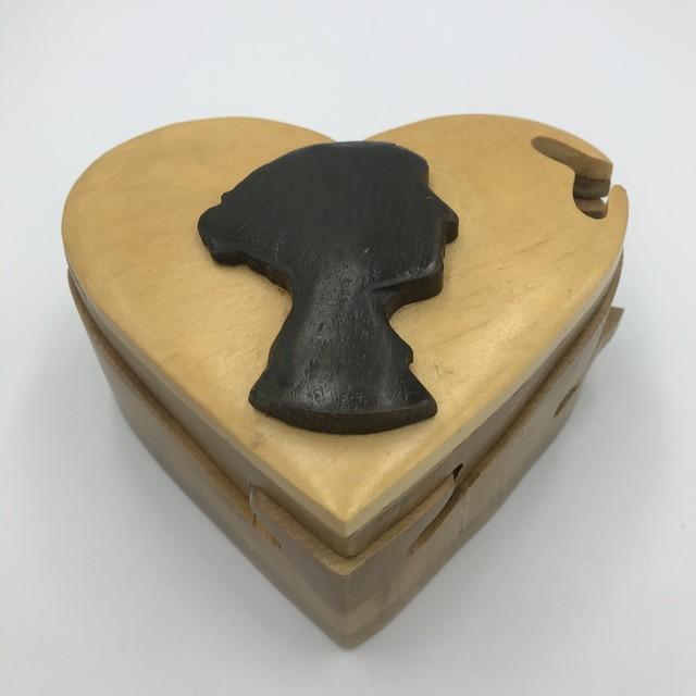 木製パズルボックス