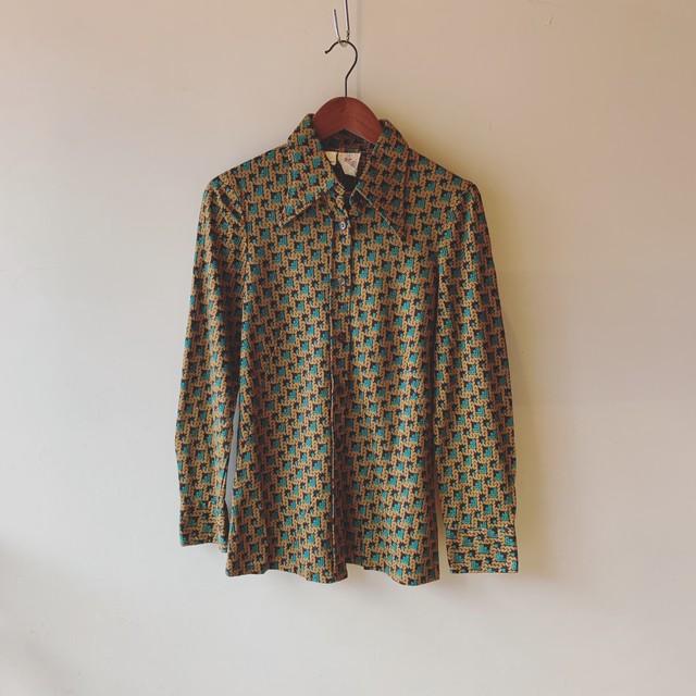 vintage Itarian design blouse