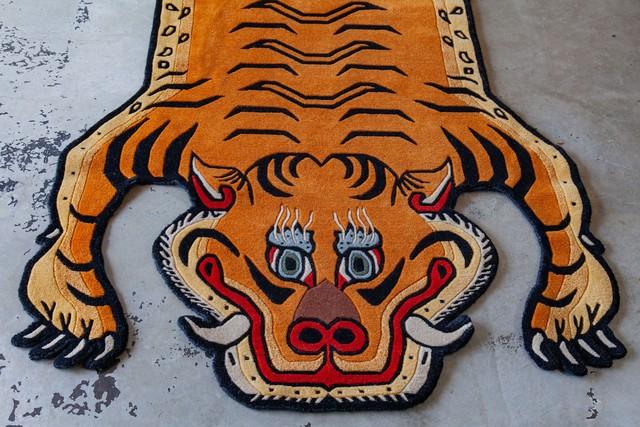 Tibetan Tiger Rug 《Lサイズ•プレミアムウール044》チベタンタイガーラグ