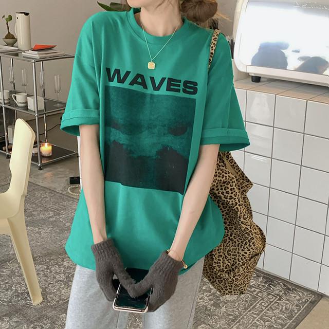 レトロプリントTシャツ