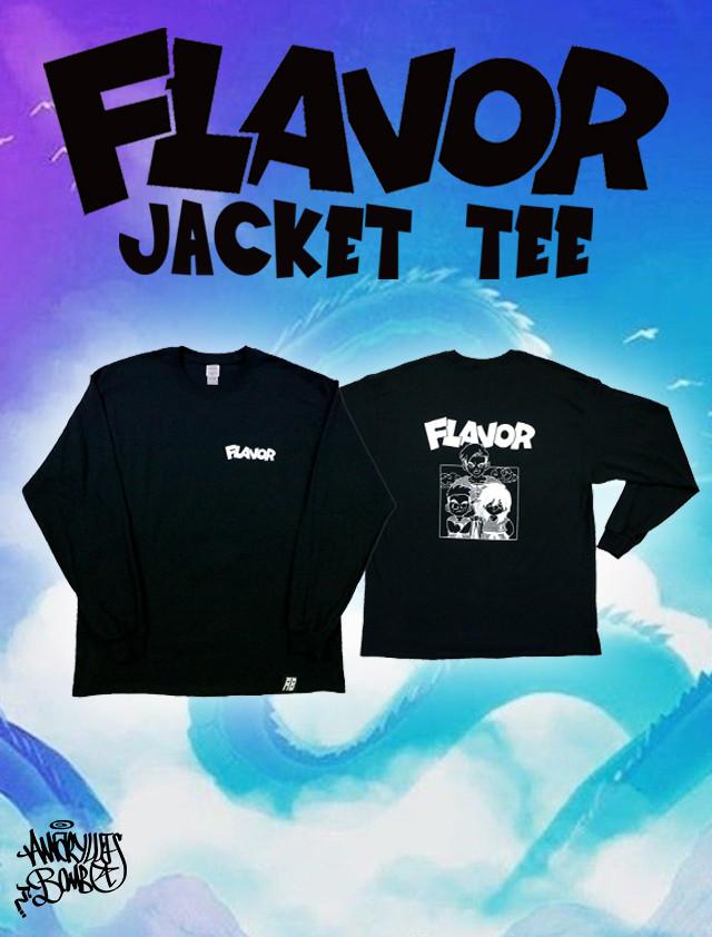 FLAVOR JACKET L/S TEE -Black-