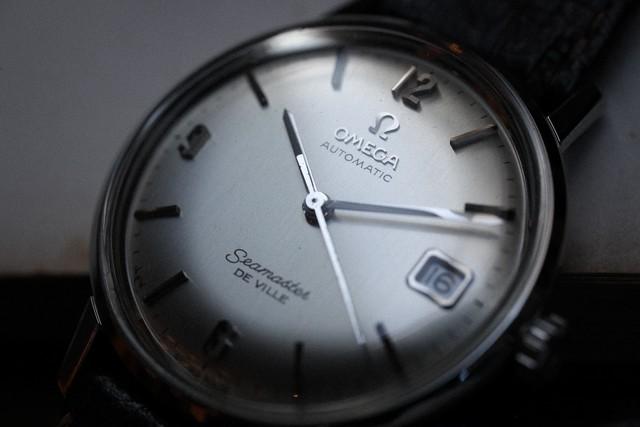 【OMEGA】 1960's シーマスター デビル 飛びアラビア ラウンドケース ドレスウォッチ 自動巻き  OH  / Vintagewatch / Seamaster /De ville / Cal.565