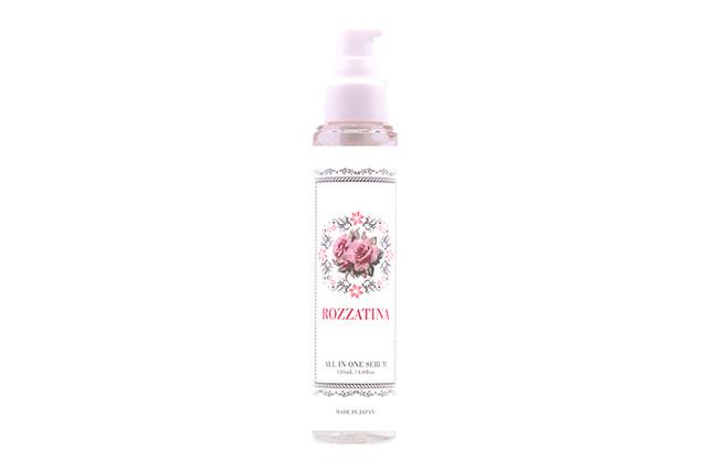 朝摘みバラの香り ROZZATINA® オールインワンセラムR〈美容液〉120ml
