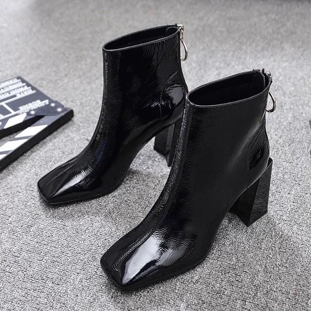【即納】back red line boots