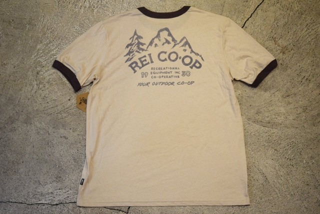 新品 REI  T-shirt  M made in USA T0419