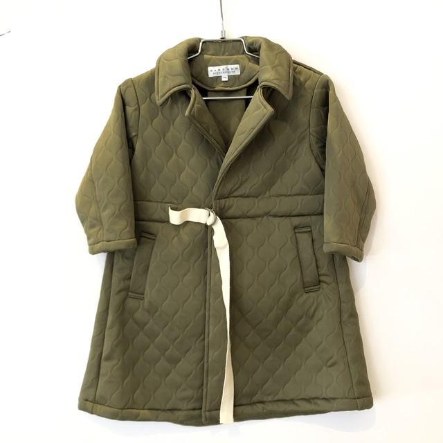 【20AW】EAST END HIGHLANDERS(イーストエンドハイランダース)quilting coat khaki コート